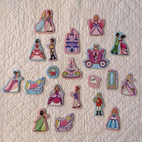 Melissa & Doug Princess Magnets